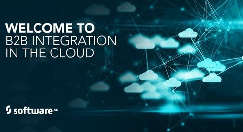 webMethods B2B Integration Moves to the Cloud