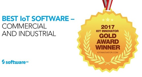 Software AG Takes Gold inIoT Innovator Awards