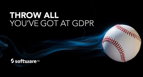 Throw Everything You've Got at GDPR