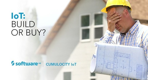 To Buy or to Build, That is the IoT Question