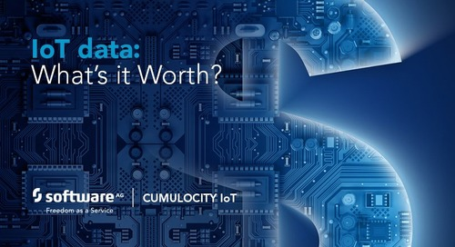 Finding – and adding to - the value of IoT data