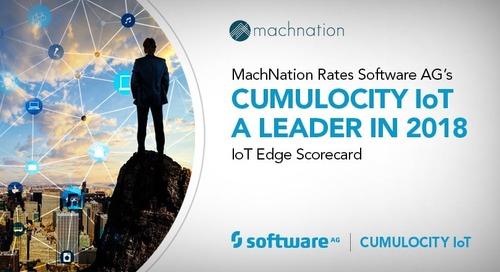 Cumulocity IoT a Leader in Edge for IoT