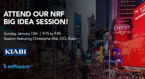 Collaboration = NRF 2019, Software AG and Kiabi