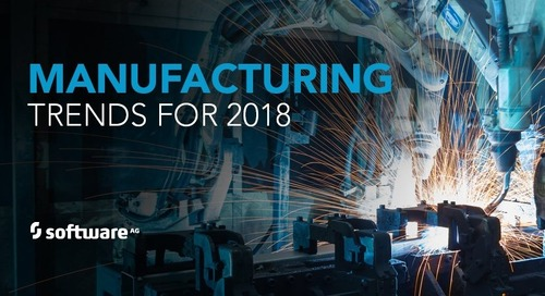 Five Manufacturing Trends in 2018 And Beyond