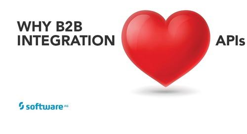 Why B2B Integration Loves APIs