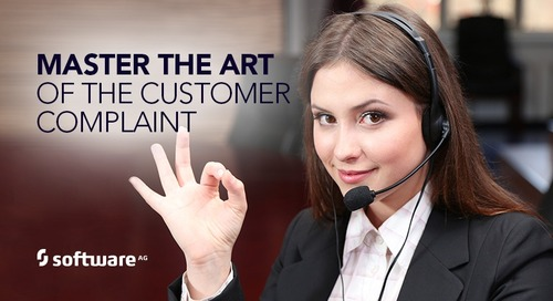 Mastering the Artof Customer Complaints