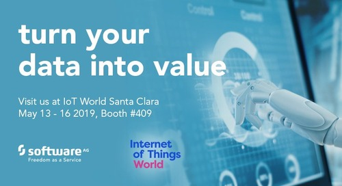 Raise your IoT IQ Level at IoT World