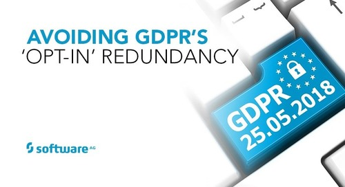 Avoiding GDPR's 'Opt-In' Redundancy