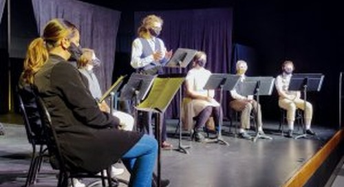 Battle Ground High School drama students return to the stage with original play