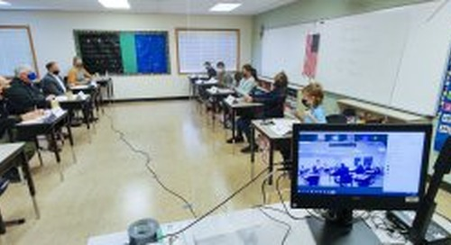 Tukes Valley Middle schoolers hold mock congressional hearing