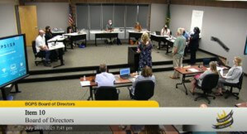 See our new board meeting viewing experience