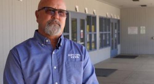 Levy helps keep BGPS buildings in shape (VIDEO)