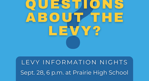 Want to learn more about the replacement levy?