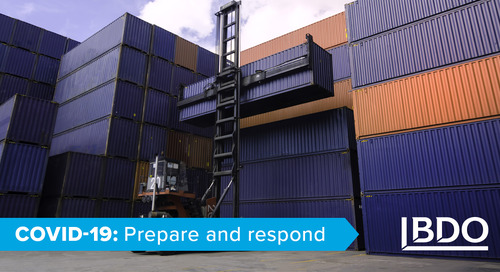 Procurement and supply chain strategies during COVID-19