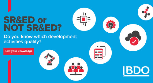 Does your software development qualify for SR&ED?