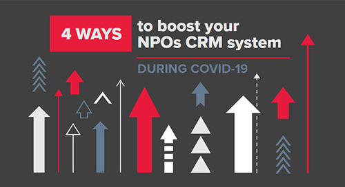Boost your not-for-profit's CRM system during COVID-19