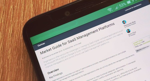 Gartner's New Market Category: SaaS Management Platforms (SMPs)