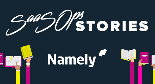 SaaSOps Stories With Daniel Brundige, Director of IT at Namely