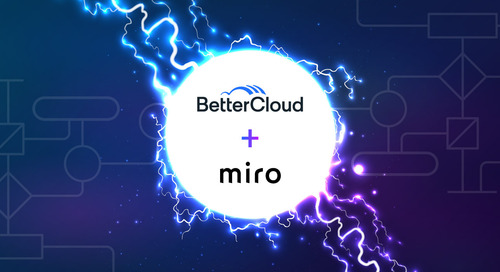 BetterCloud + Miro: Helping Teams Supercharge Productivity & Streamline Workflows