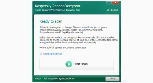 Free Decryption Tool Released for Cryakl Ransomware