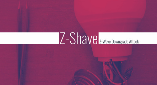 Z-Shave Attack Could Impact Over 100 Million IoT Devices