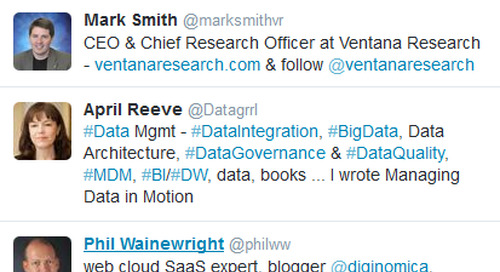 14 Twitter Influencers to Follow for iPaaS and Data Integration