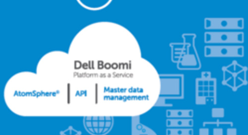 Dell Boomi at HIMSS16: Application Integration Fosters Healthcare Interoperability