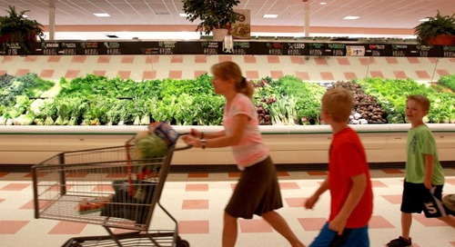 See which grocery stores with New England locations were rated the cleanest in the country