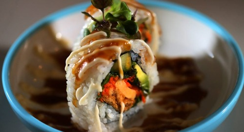 A sushi restaurant in the Seaport has suddenly closed