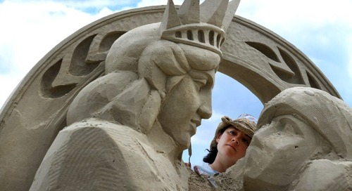 What to know about this year's Revere Beach sand sculpting festival