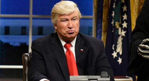 'Saturday Night Live' takes on Trump-Kanye meeting