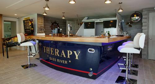 "A ""Boat Bar"" Anchors in Snug Harbor"