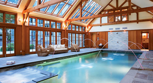 Six Stunning Indoor Pools and Spas