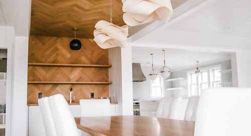 Flooring Looks Up: Wood Ceilings and Accent Walls