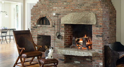 January Warm-Up: 6 Cozy Fireplaces