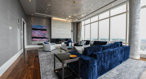 Blue Is the New Black: Luxury Condo Remodeling