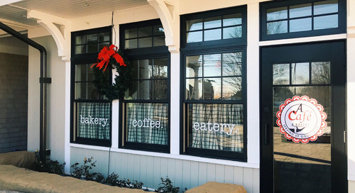 Weekend Warm-Up: A Café & Bakery is Now Open!