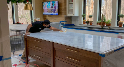 Damage to your Stone? 3 Surfaces Get a Makeover