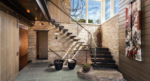 It's the Climb: Statement-Making Stairways
