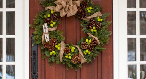 Holiday Door Decor