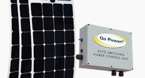 Go Power's solar charging system