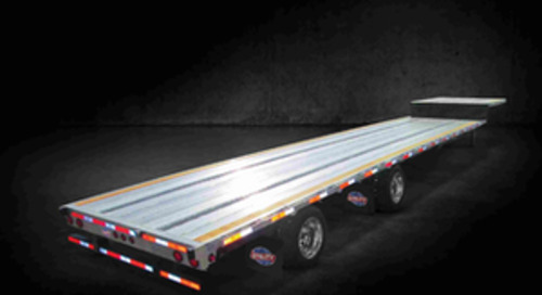 Utility unveils new 4000AE Drop Deck Flatbed