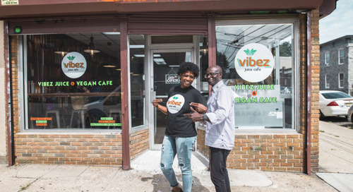 Vibez Juice Cafe in the Jersey City Heights