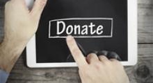 Understanding donor behaviour with the cloud