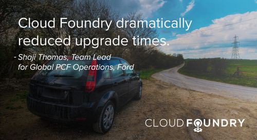 Ford Transforms its Customer Experience with Cloud Foundry