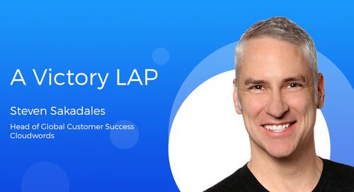 A Victory LAP by Steven Sakadales
