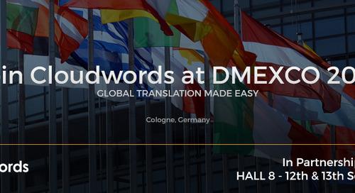 Cloudwords at DMEXCO