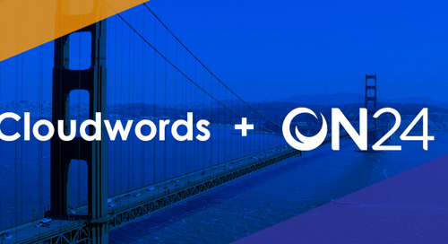 Cloudwords and ON24 Establish Global Partnership