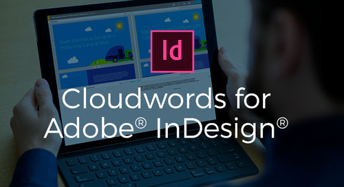 Cloudwords for Adobe InDesign