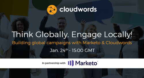 Building global campaigns with Marketo & Cloudwords